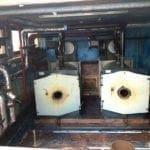 Locale caldaie bonificato da amianto friabile