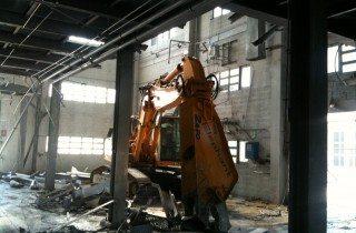 demolizione stripout azienda chimica