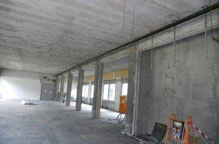 strip out - demolizione - uffici ultimati