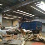 Dismissione stabilimento di produzione batterie industriali