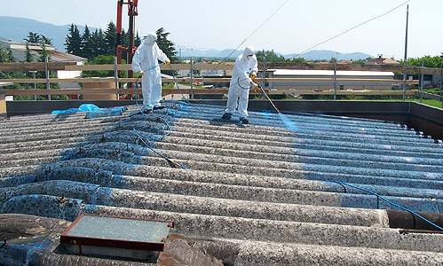 Bonifica amianto compatto. Rimozione lane minerali (lana di vetro, lana di roccia)