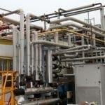 Demolizioni impianti trattamento acqua aria