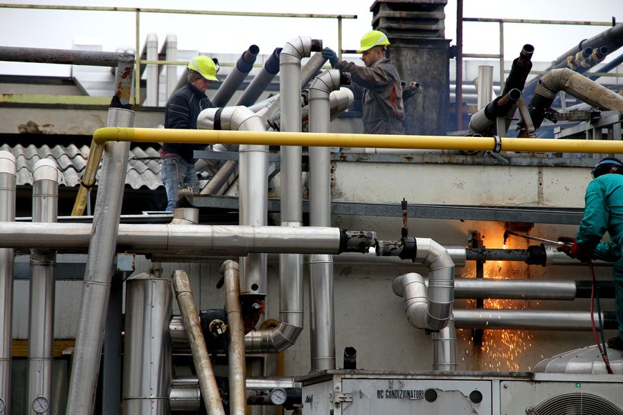 Demolizione fonderia di alluminio - Virtus Srl