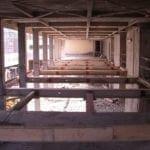 Come si presentavano gli interni a lavori di demolizione ultimati