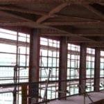 Come si presentavano le facciate dall'interno a lavori di demolizione ultimati