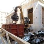Strip-Out e Demolizioni Murarie - Ex sede centrale delle poste italiane in via Ferrante Aporti Milano