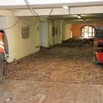 Demolizione pavimenti