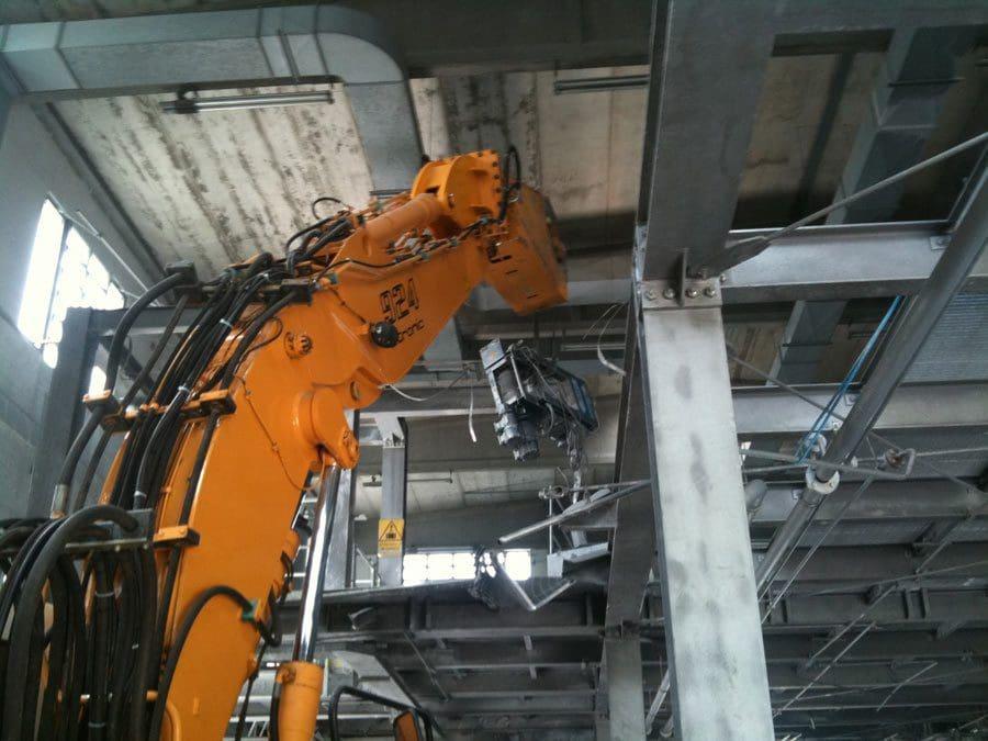 La demolizione industriale, una parte sempre piu' importante del nostro lavoro - Virtus Srl