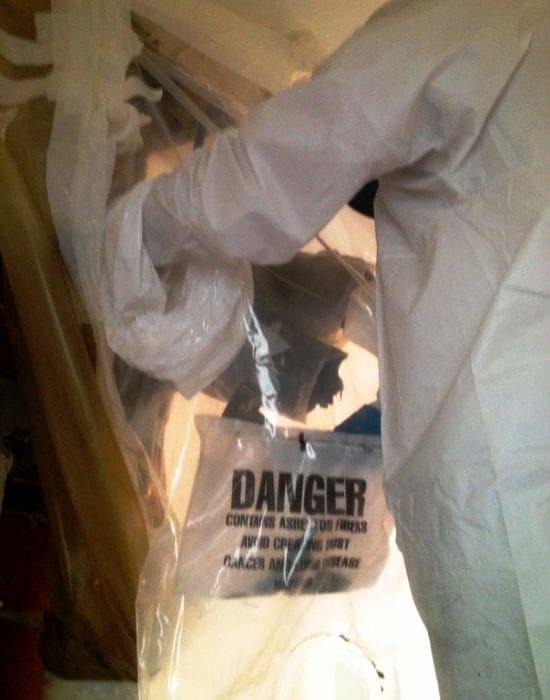 Bonifica tubazioni amianto