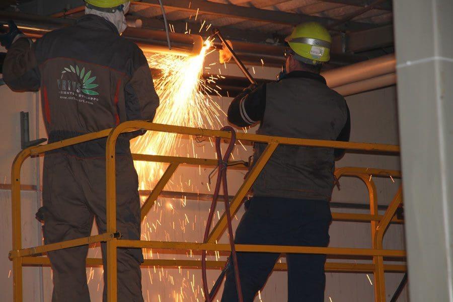 Demolizioni impianti industriali - Virtus Srl