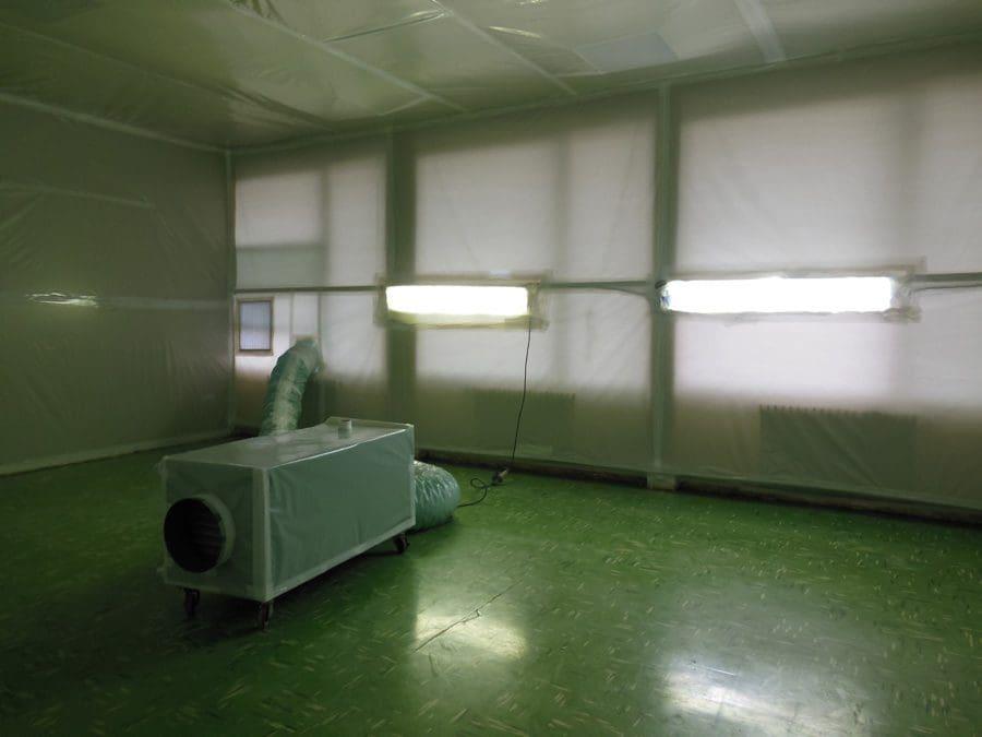 Bonifica pavimenti amianto - Virtus Srl