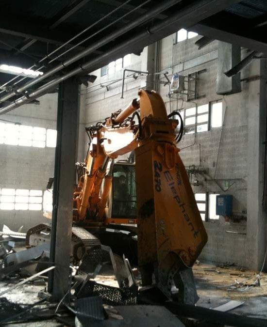 Demolizioni Industriali - Fasi di Intervento