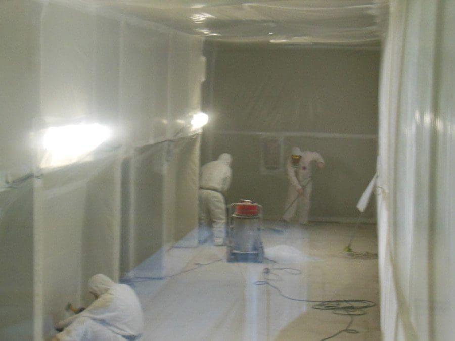 Bonifica delle pavimentazioni in vinil amianto in complessi scolastici - Virtus Srl