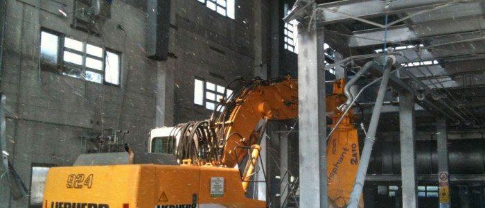 demolizione carpenterie