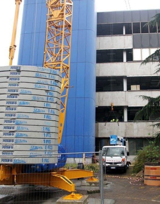 Strip-out edificio direzionale