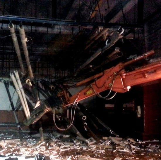 Strip out e demolizione impianti poste italiane roma