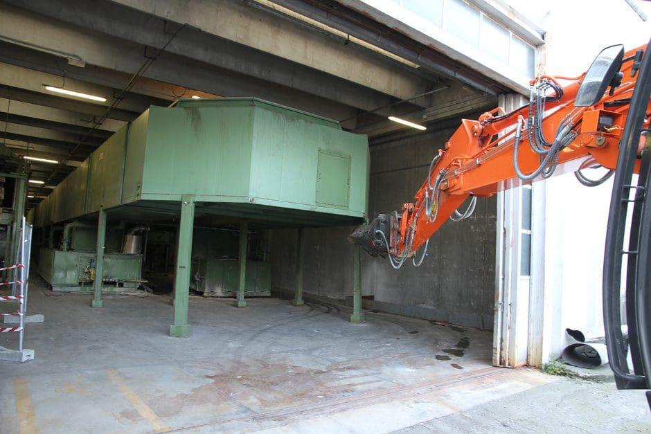 Demolizione impianto industriale - Virtus Srl
