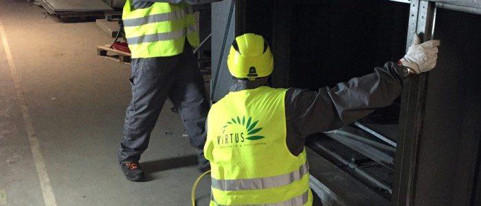 Demolizione Impianti trattamento aria