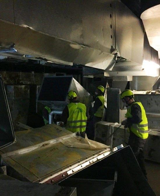 Rimozione FAV e amianto a Swindon (UK)