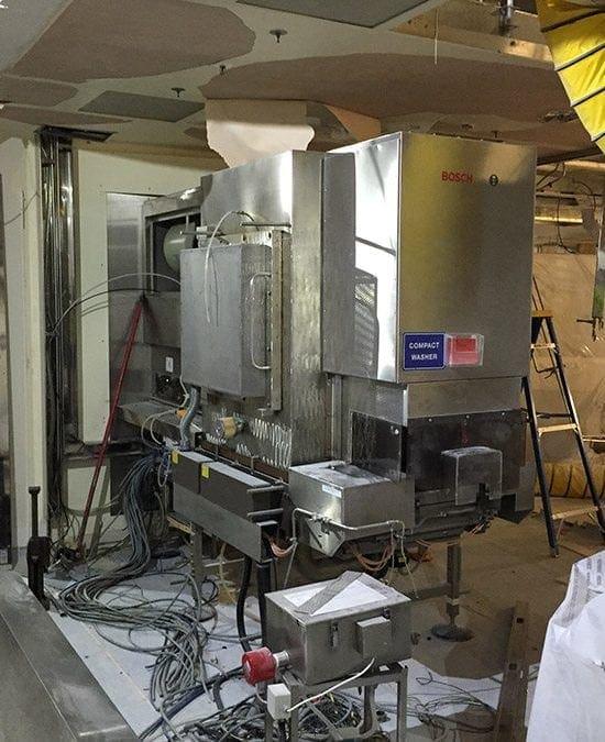 Smontaggio e demolizione reparto farmaceutico a Swindon -UK