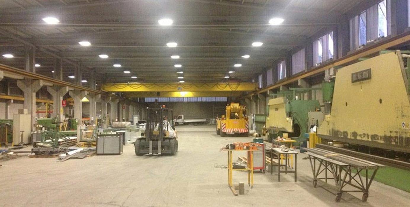 Demolizione impianti industriali - Virtus Srl