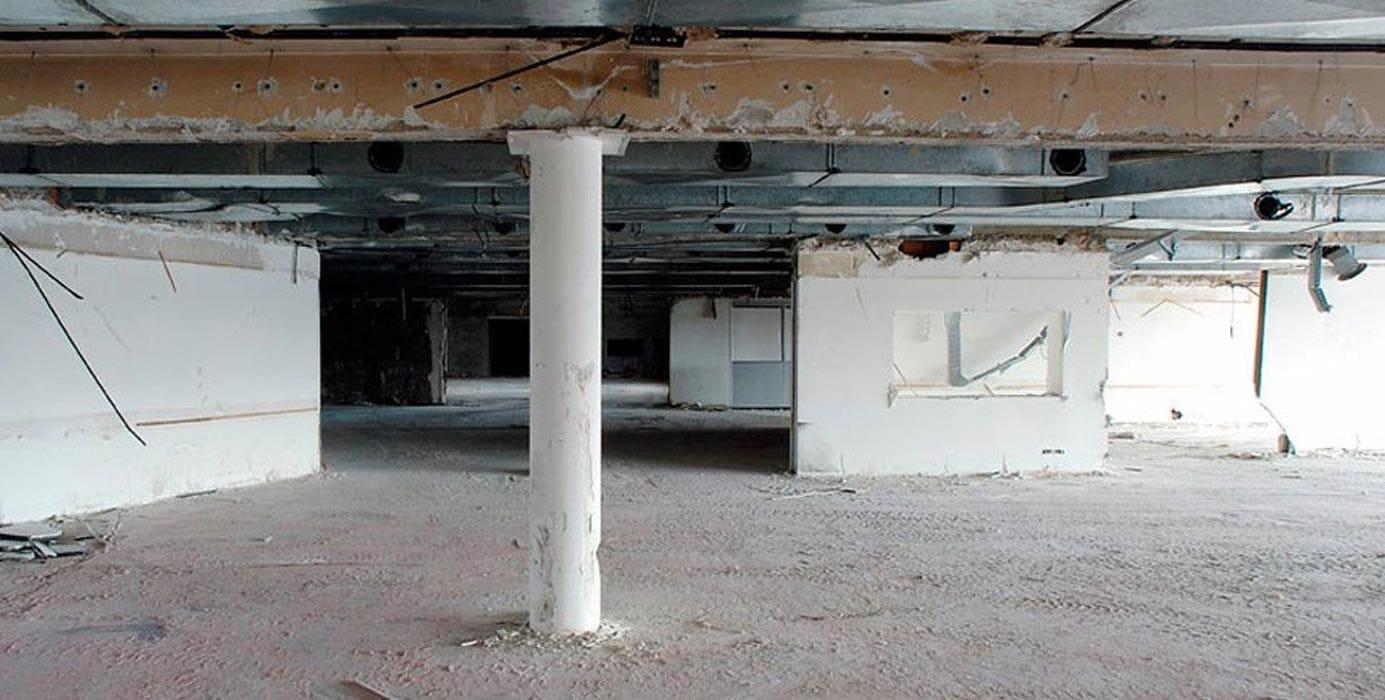 Strip out e demolizione edificio - Virtus Srl