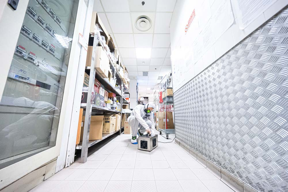 Sanificazione Decontaminazione Disinfezione - Virtus Srl
