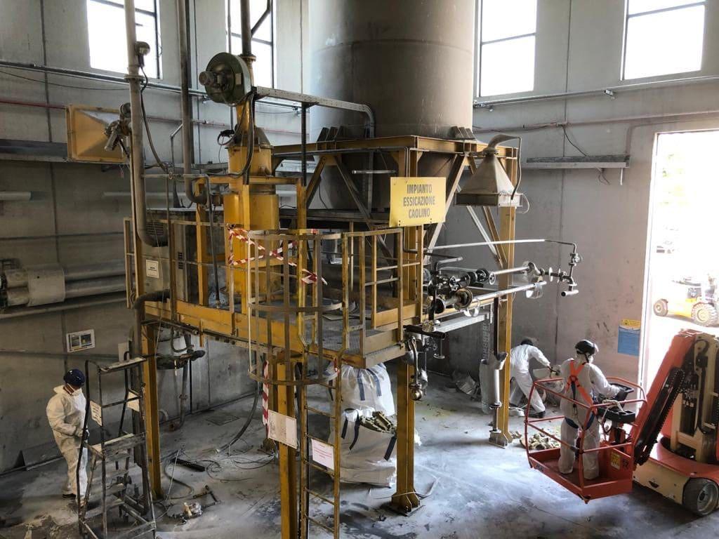 Demolizione impianti settore chimico - Virtus Srl